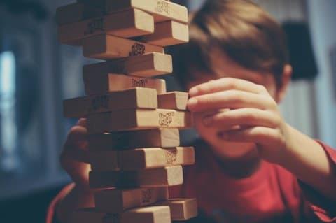 A game of Jenga