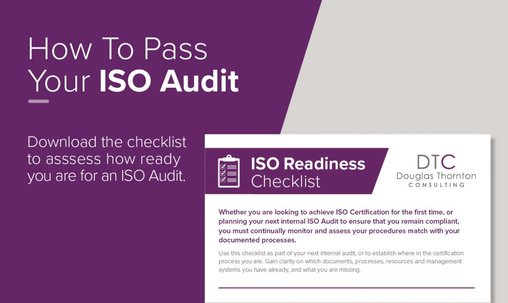 ISO Audit Checklist