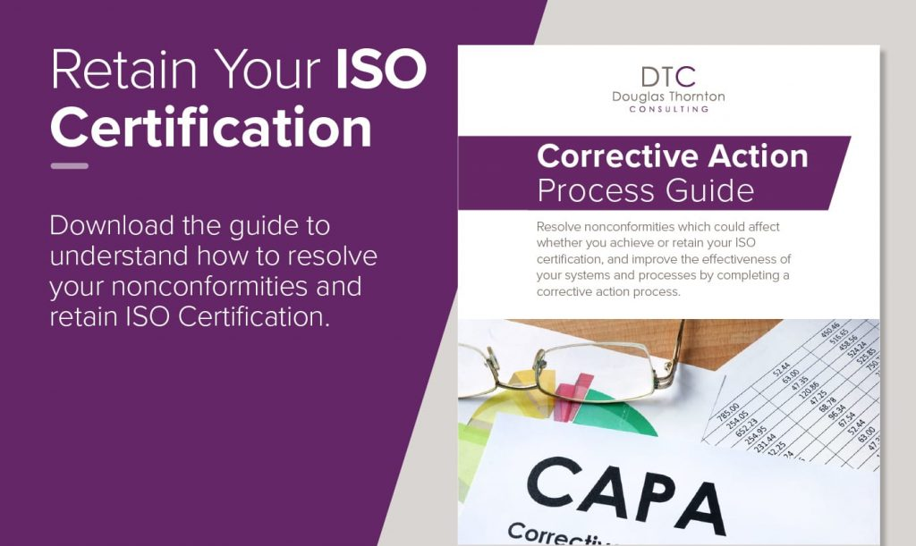 Retain Your ISO Certification