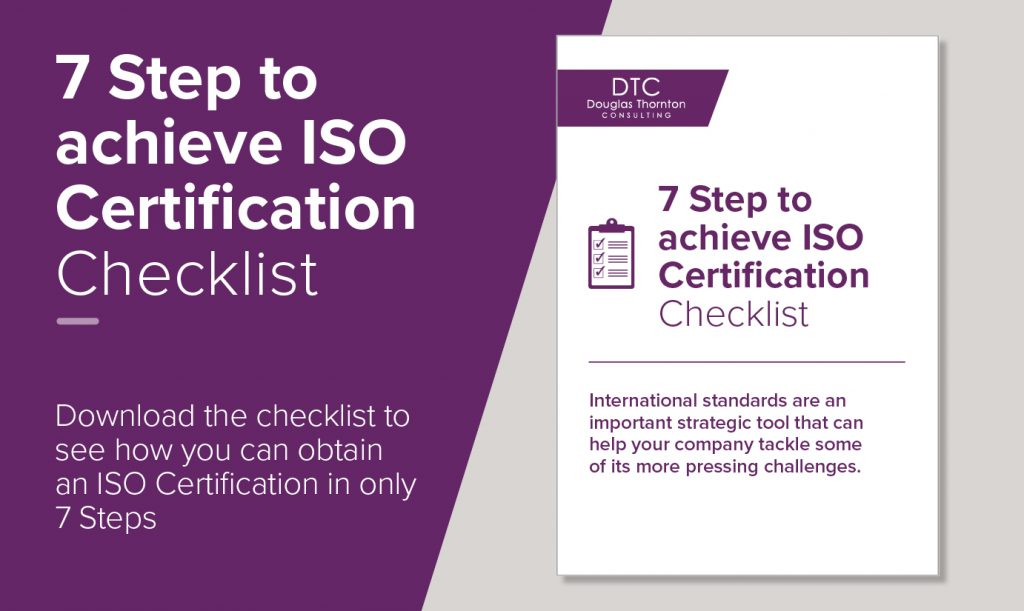 7 steps to achieve ISO certification